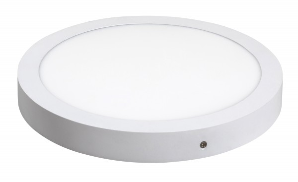 LED Deckenleuchte LOIS in mattweiß naturalweiß Ø300mm
