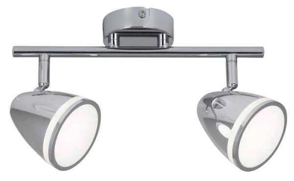LED Deckenleuchte 8W 720lm chrom neutralweiß 4000K