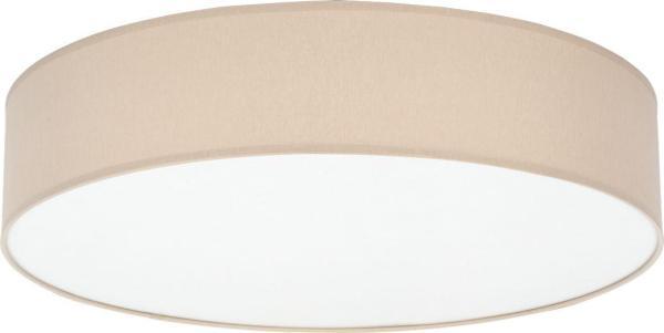 Deckenleuchte RONDO beige aus Metall/Textil 600mm