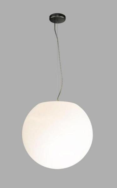 CUMULUS Garten-Dekoleuchte Terrassenleuchte Metall/PE weiß Dekolampe Außenlampe Gartenlampe E27 60W