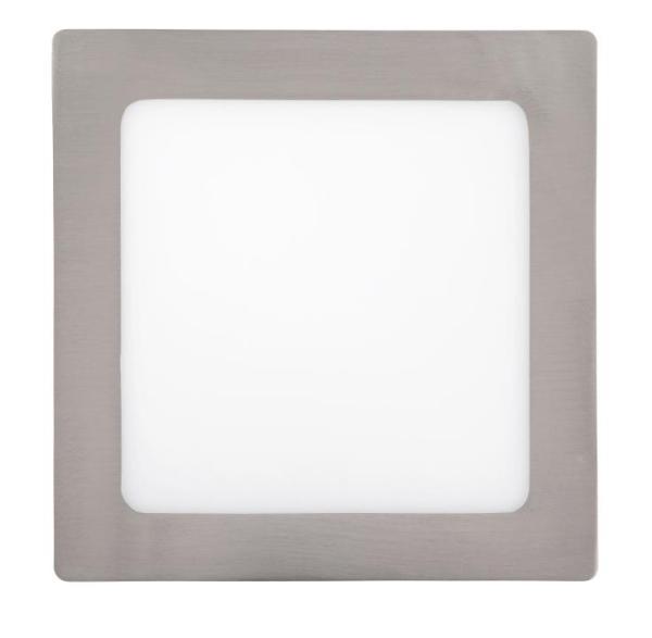 LED Deckenleuchte chrom 12W Lois Metall/Kunststoff 3000K warmweiß 800lm