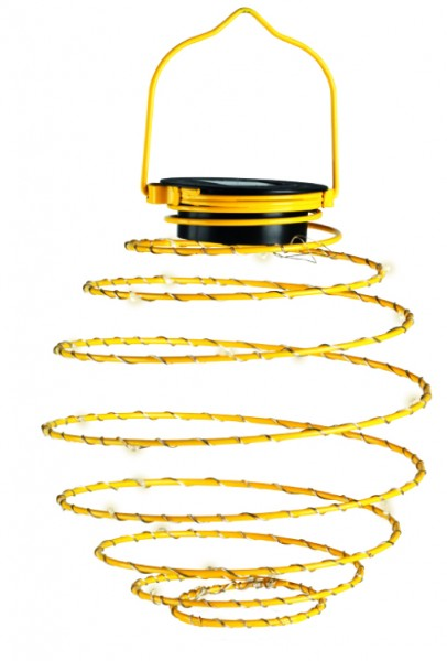 LED Mini-Solar-Spirale 4er Set