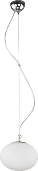 Pendelleuchte aus Glas weiß 1 flammig E27 NUAGE S