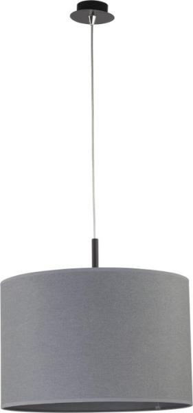 Pendelleuchte modern aus Metall grau ALICE L E27