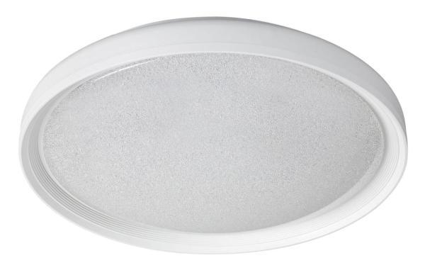 Esme Deckenleuchte modern Metall/Kunststoff weiß Deckenlampe LED-Board 24W