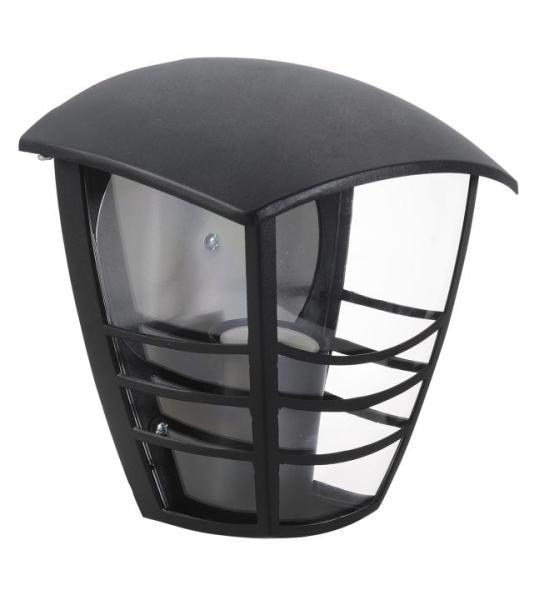 Marseille Außenwandleuchte klassisch Metall/Kunststoff schwarz Außenlampe Wandlampe E27 60W