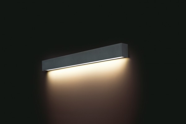 LED Wandleuchte anthrazit 14W 3000K 1300lm