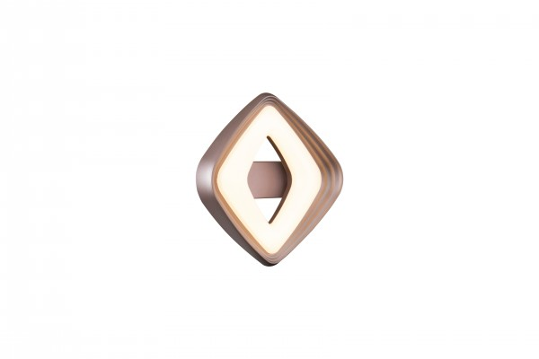 Daria, LED Wandleuchte, Gold