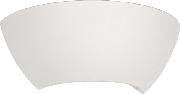 Wandleuchte weiß aus Glas GIPSY MOON E27