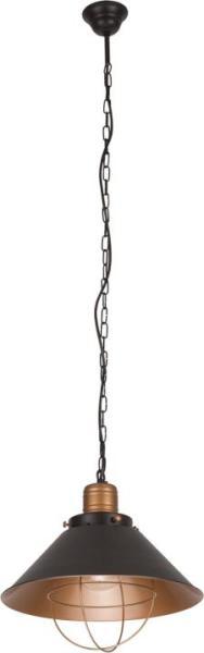 Pendelleuchte schwarz aus Metall GARRET S E27