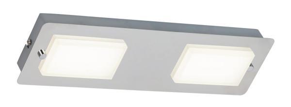 LED Wandleuchte chrom 102W 4000K 774lm