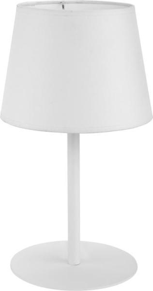 MAJA Tischleuchte weiß 1-flammig E27 60W
