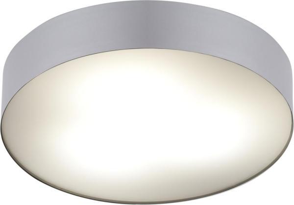 Badezimmer-Deckenleuchte ARENA silber E14