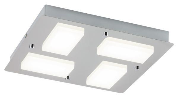 LED Deckenleuchte 1866W 1548lm chrom neutralweiß 4000K