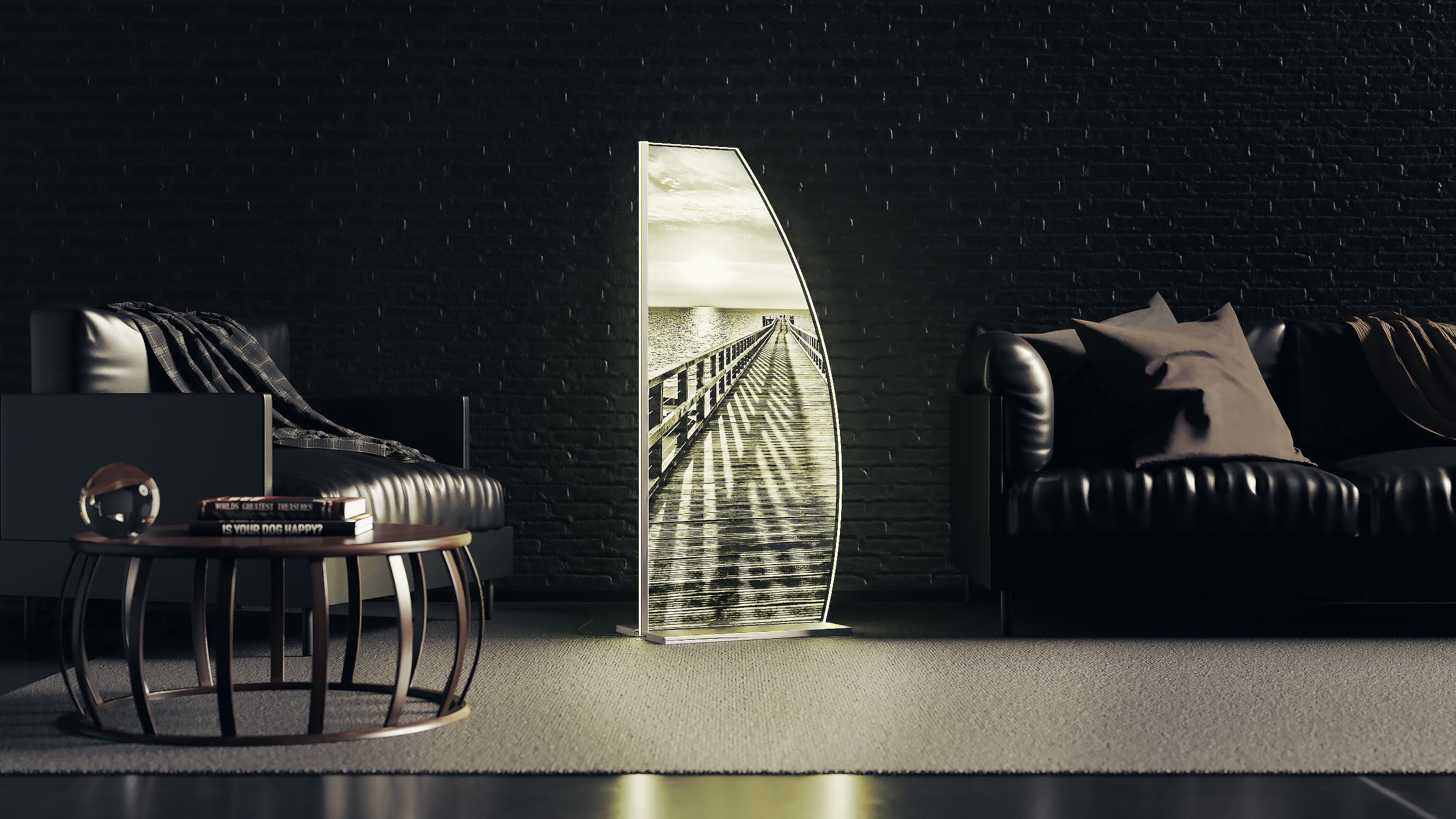 LED Designstehleuchte