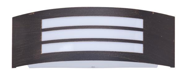 Roma Außenwandleuchte klassisch Metall/Kunststoff antikgold Außenlampe Wandlampe E27 14W