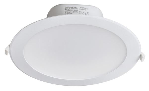 LED Einbaustrahler weiß neutralweiß 25W