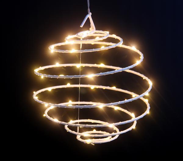 LED-Spiralleuchte warmweiß