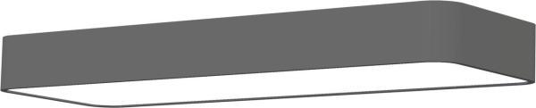 LED Wandleuchte grau 11W 3000K 1000lm 2 flammig