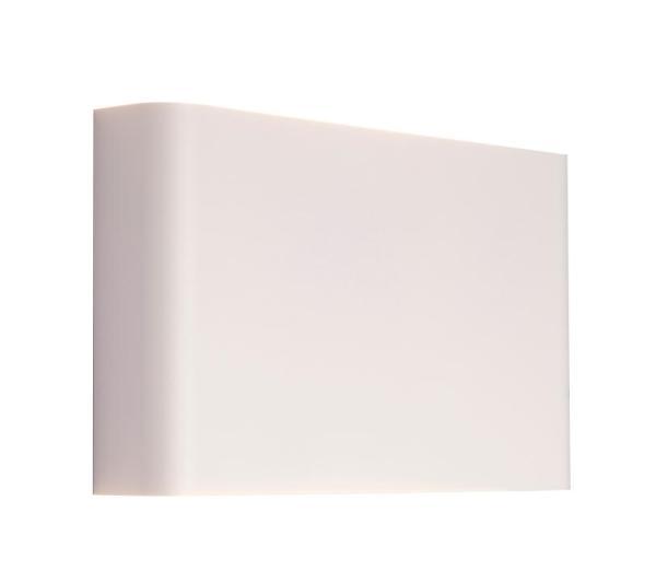 Wandleuchte weiß aus Metall HAGA G9