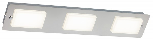 LED Deckenleuchte 1437W 1161lm chrom neutralweiß 4000K