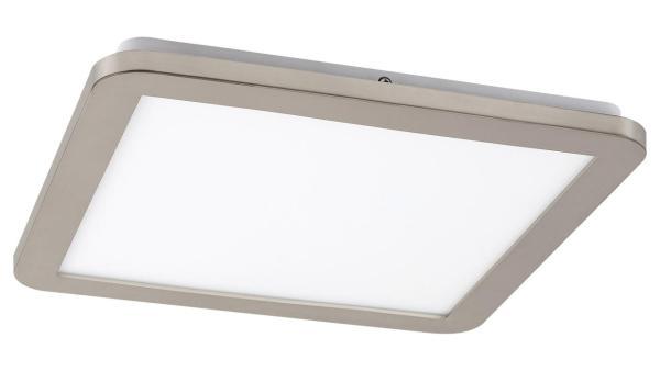 LED Deckenleuchte silber/Opalglas LED-Board 18W A 3000K 1200lm IP44