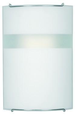 Moderne Wandleuchte Glas E14 weiß