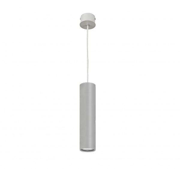 Pendelleuchte modern aus Metall silber EYE M GU10