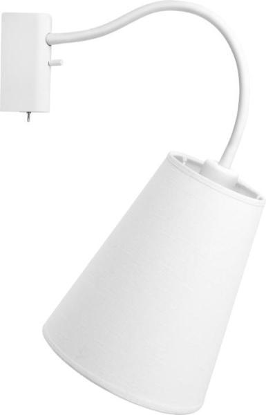 Wandleuchte mit Schalter FLEX weiß modern