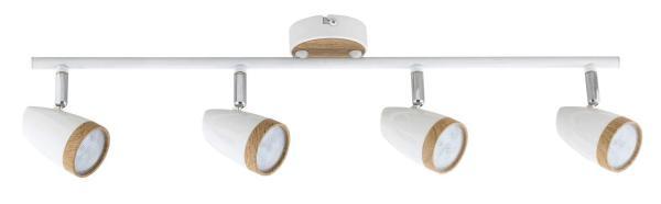 LED Spot weiß 16W Karen Metall/Kunststoff 3000K warmweiß 4x280lm