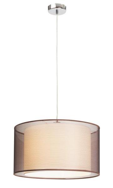 Pendelleuchte modern aus Metall braun Anastasia E27