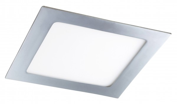 LED Einbauleuchte Lois quadratisch chrom