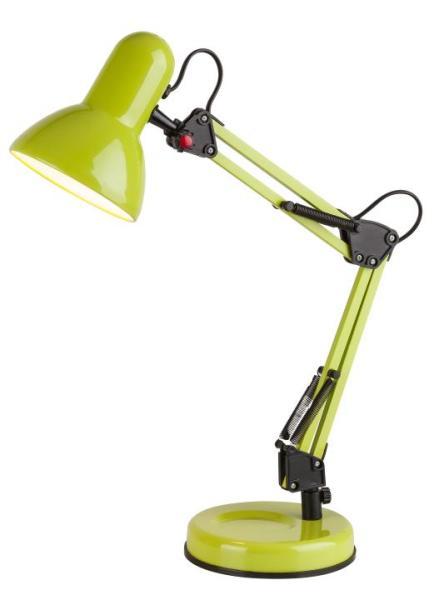 Schreibtischlampe grün Kinder Samson E27