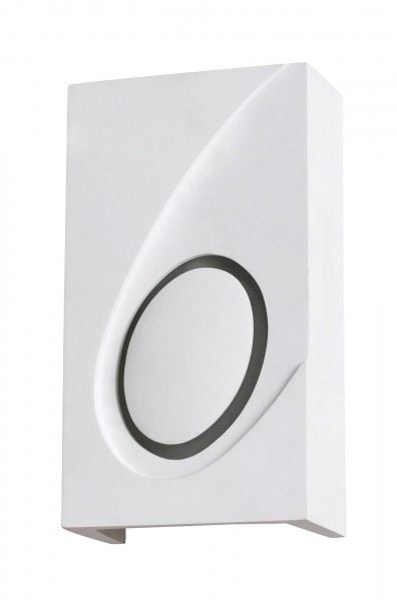 Wandleuchte weiß aus Metall Gia E14