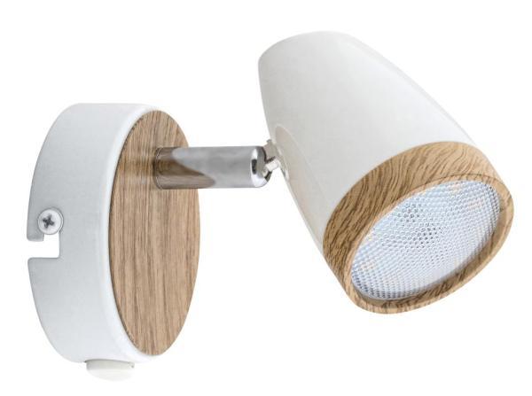 LED Spot weiß 4W Karen Metall/Kunststoff 3000K warmweiß 280lm