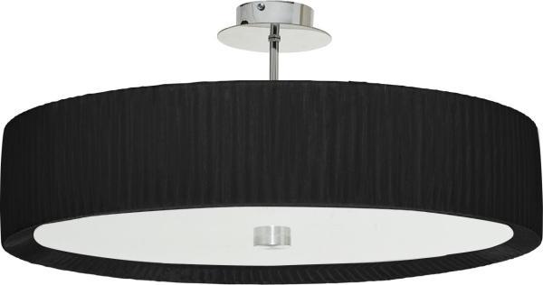 Deckenleuchte E27 ALEHANDRO schwarz modern 55 cm