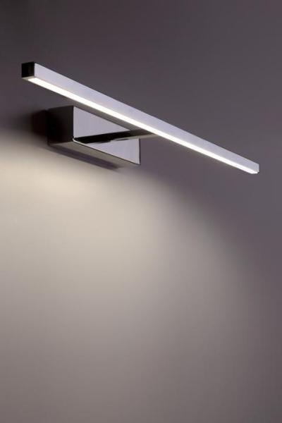 LED Wandleuchte chrom 12W 3000K 560lm