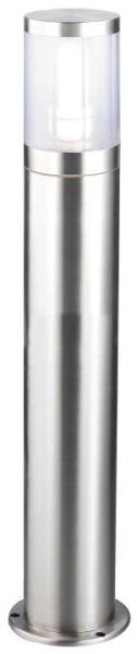 Atlanta Wegeleuchte modern Metall/Kunststoff edelstahl Außenleuchte Standleuchte Pollerleuchte E27 6