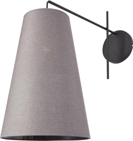 Wandleuchte modern grau aus Textil Alanya
