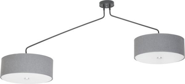 Deckenleuchte E27 HAWK grau modern