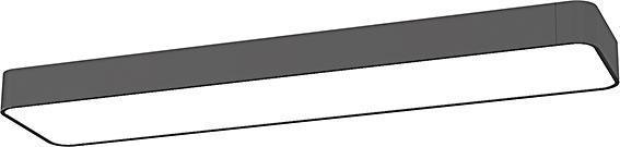 LED Deckenleuchte 11W 1000lm grau warmweiß 2 flammig