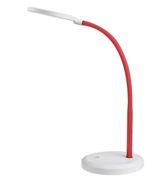 Timothy, LED Tischleuchte, Rot, Modern