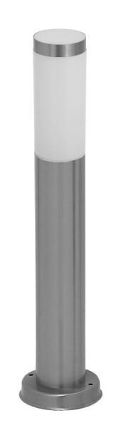 Inox torch Wegeleuchte modern Metall/Kunststoff edelstahl/weiß Außenleuchte Standleuchte Pollerleuch