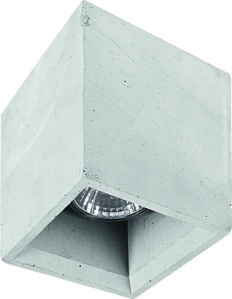 Wohnzimmer-Deckenleuchte BOLD grau GU10
