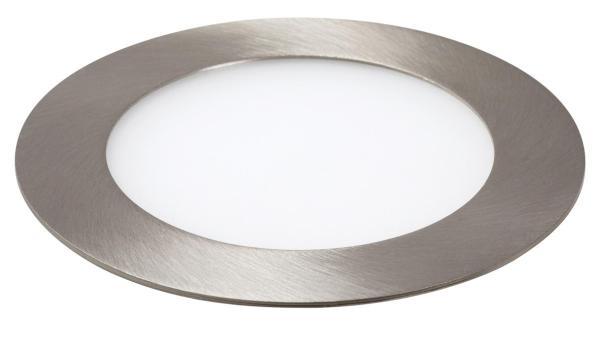 LED Einbauleuchte LOIS in chrom warmweiß Ø120mm