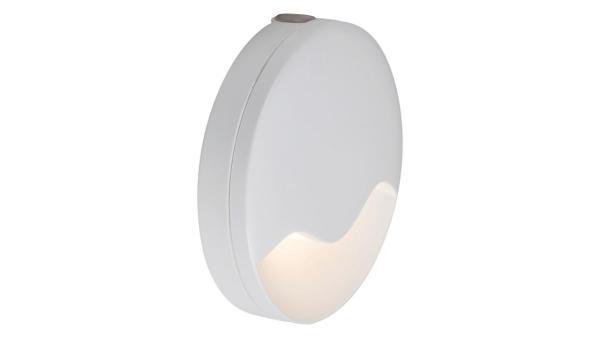 LED Nachtlicht Dekoleuchte Nachtlicht, weiß, eingebaute LED 0,3W 3000K, Lichtsensor