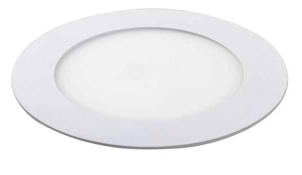 LOIS LED Einbauleuchte mattweiß Ø120mm