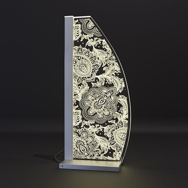 LED Designleuchte Ornament