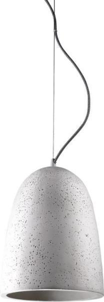 Pendelleuchte modern aus Metall grau GYPSUM E27 D24