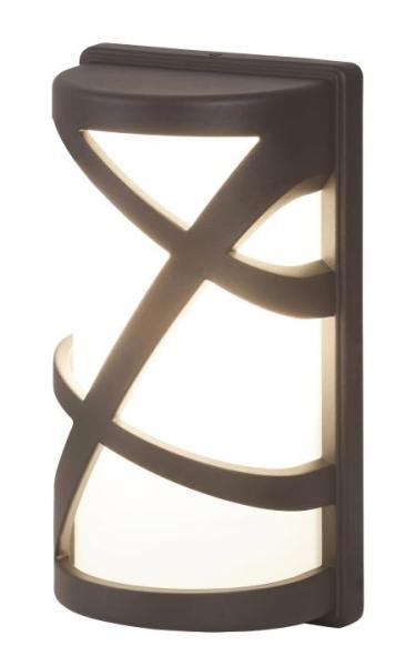 Durango Außenwandleuchte modern Metall/Kunststoff anthrazit grau Außenlampe Wandlampe E27 40W